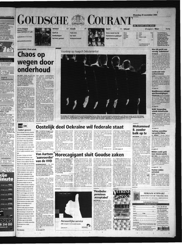 Goudsche Courant 2004-11-29