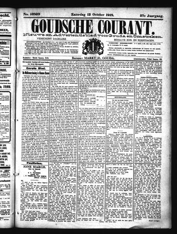 Goudsche Courant 1918-10-12