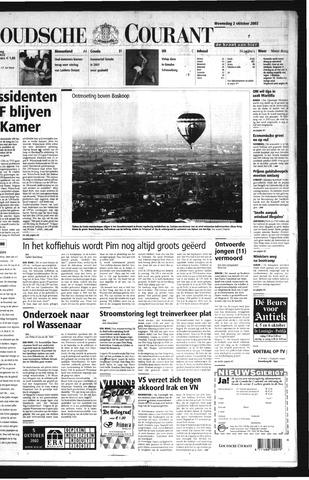 Goudsche Courant 2002-10-02