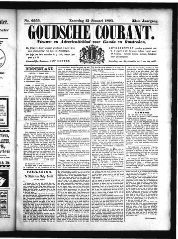 Goudsche Courant 1895-01-12
