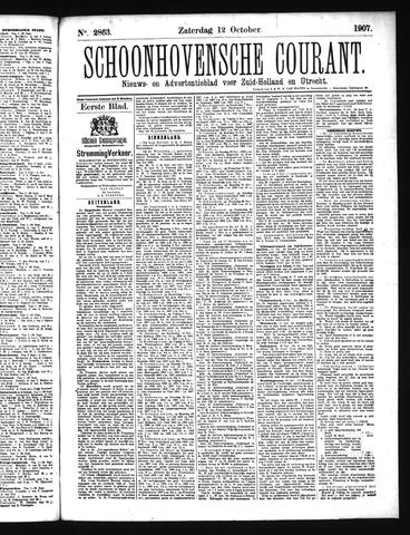 Schoonhovensche Courant 1907-10-12
