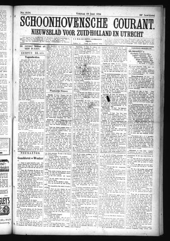Schoonhovensche Courant 1926-06-18