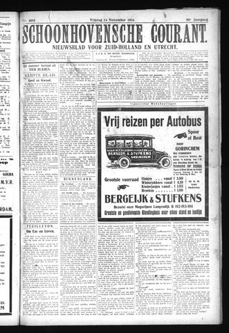 Schoonhovensche Courant 1924-11-14