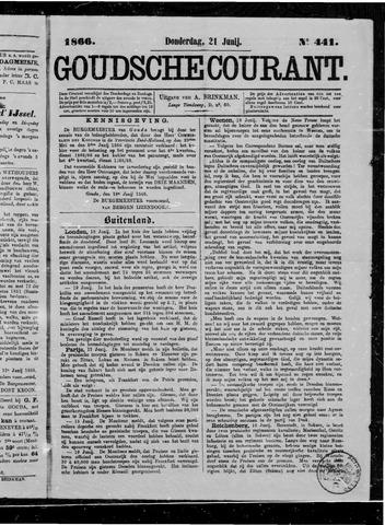 Goudsche Courant 1866-06-21