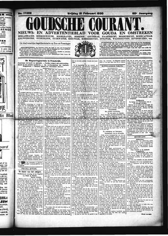 Goudsche Courant 1930-02-21