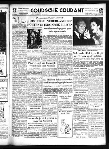Goudsche Courant 1952-10-14