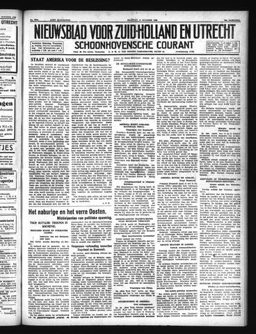 Schoonhovensche Courant 1940-10-14