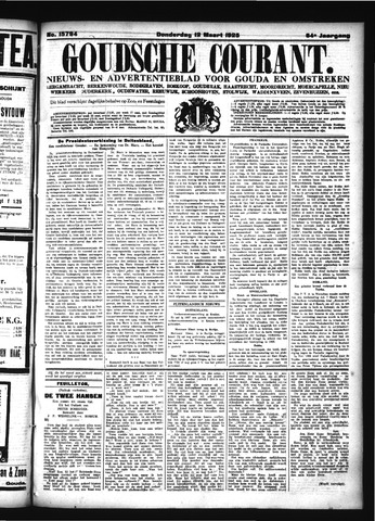 Goudsche Courant 1925-03-12
