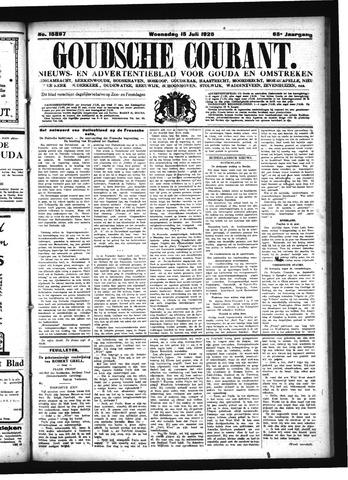 Goudsche Courant 1925-07-15