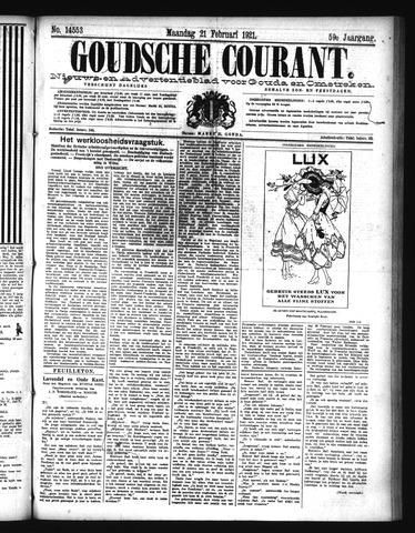 Goudsche Courant 1921-02-21
