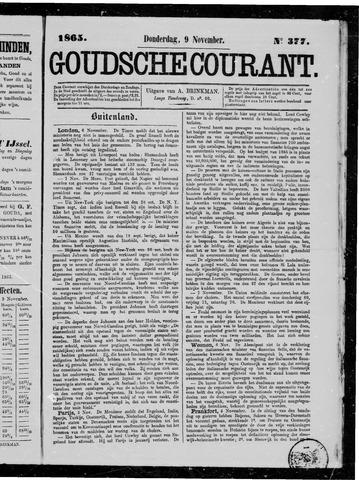 Goudsche Courant 1865-11-09