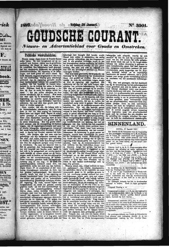 Goudsche Courant 1887-01-28