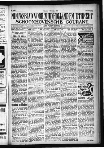 Schoonhovensche Courant 1928-11-05