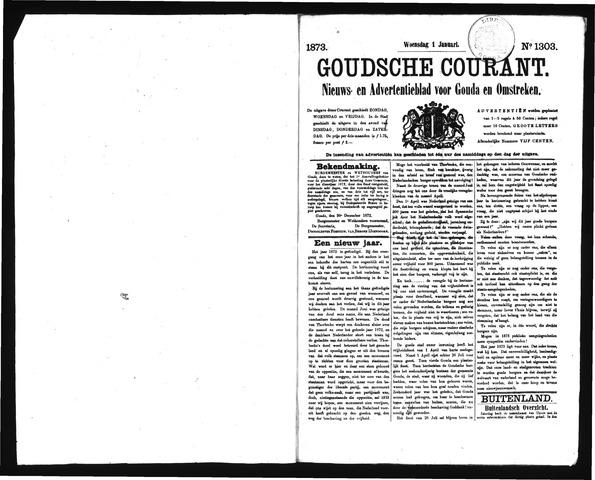 Goudsche Courant 1873-01-01