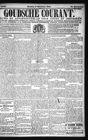 Goudsche Courant 1922-11-21