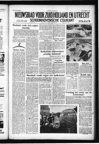 Schoonhovensche Courant 1957-10-09