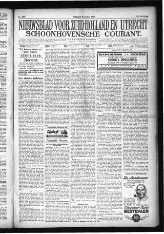 Schoonhovensche Courant 1928-12-21