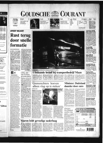 Goudsche Courant 2002-05-13