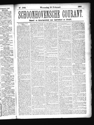 Schoonhovensche Courant 1898-02-16