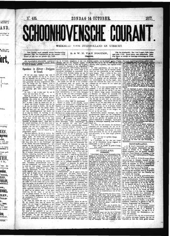 Schoonhovensche Courant 1877-10-14