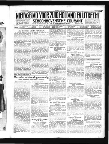 Schoonhovensche Courant 1939-05-15