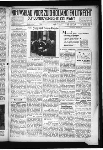 Schoonhovensche Courant 1931-11-25