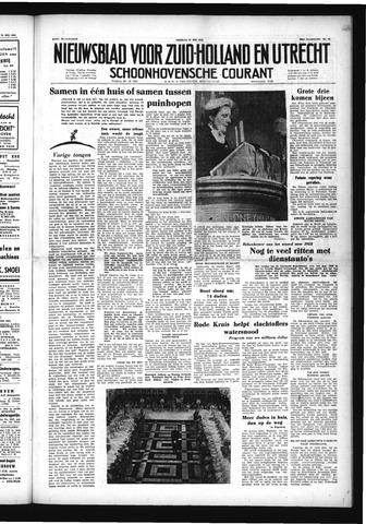 Schoonhovensche Courant 1953-05-22
