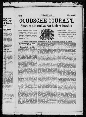 Goudsche Courant 1871-04-28