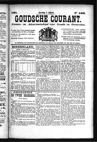 Goudsche Courant 1891-01-03