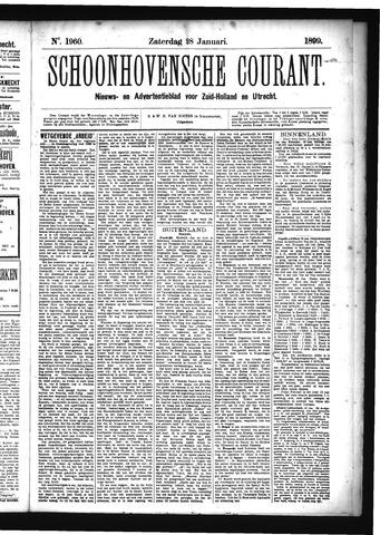 Schoonhovensche Courant 1899-01-28