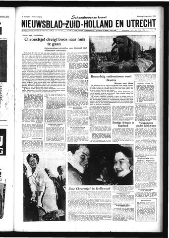 Schoonhovensche Courant 1959-09-21