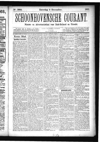 Schoonhovensche Courant 1911-12-02