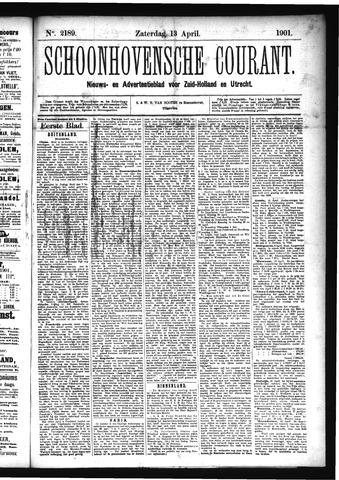 Schoonhovensche Courant 1901-04-13