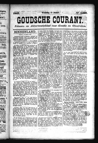 Goudsche Courant 1887-01-19