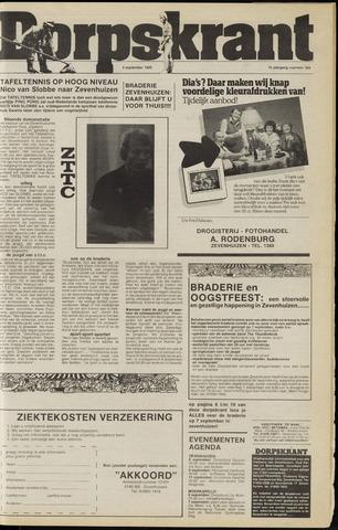 Dorpskrant 1985-09-04