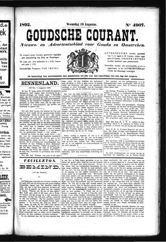 Goudsche Courant 1892-08-10