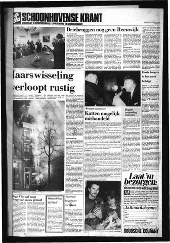Schoonhovensche Courant 1989