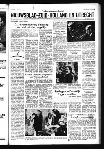 Schoonhovensche Courant 1965-01-27