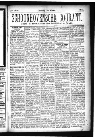 Schoonhovensche Courant 1915-03-23