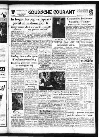 Goudsche Courant 1958-04-17