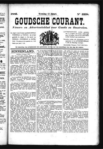 Goudsche Courant 1886-01-13