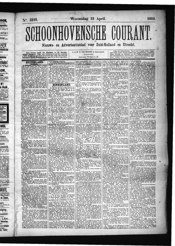 Schoonhovensche Courant 1910-04-13