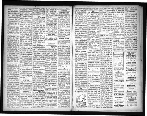 Schoonhovensche Courant 1929-06-24