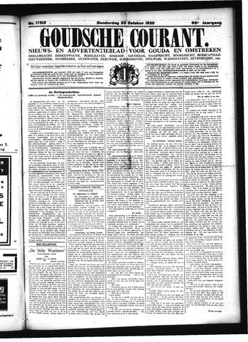 Goudsche Courant 1930-10-23