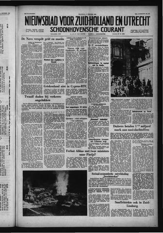 Schoonhovensche Courant 1958-10-27