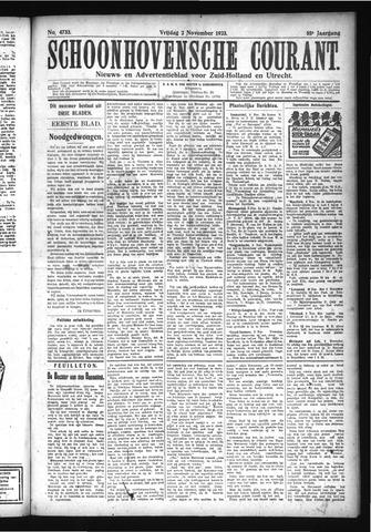 Schoonhovensche Courant 1923-11-02