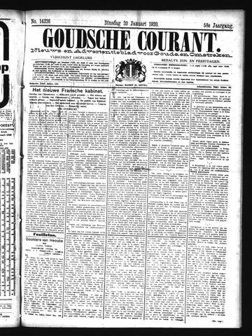 Goudsche Courant 1920-01-20