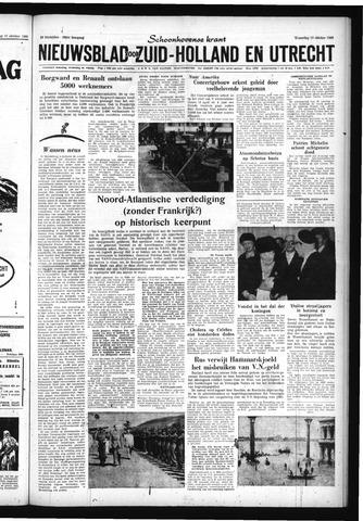 Schoonhovensche Courant 1960-10-19