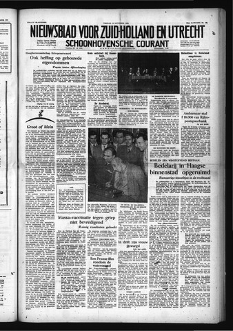 Schoonhovensche Courant 1953-11-13