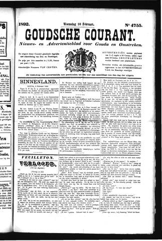Goudsche Courant 1892-02-10